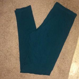 Forever 21 green leggings